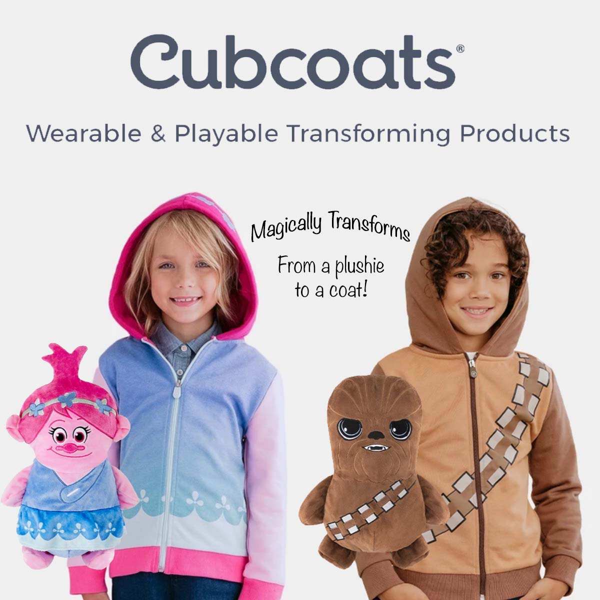 CubCoats Wearable Plushies  Header Image